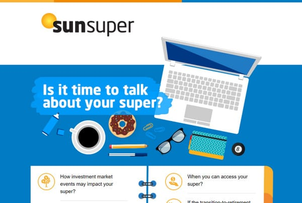 Sunsuper Event Invite