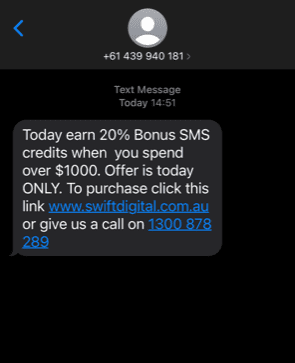 SMS Marketing Call To Action